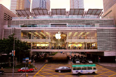 Apple Store Hong Kong Images libres de droits