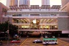 Apple Store Hong Kong Imágenes de archivo libres de regalías