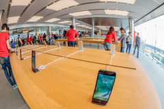 Apple Store Hong Kong Royalty Free Stock Photos