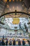 Apple store in Hong kong royalty free stock photo
