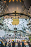 Apple store in Hong kong Stock Image