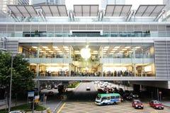 Apple Store in Hongkong Royalty-vrije Stock Foto