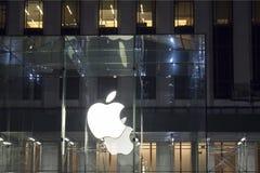 Apple Store-Landschap Stock Afbeeldingen