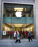 Apple store in Liverpool, UK Royalty Free Stock Photo