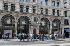 Apple Store, Londres Photographie stock
