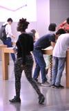 Apple Store na Chunxi drodze zdjęcie royalty free