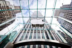 Apple Store in New York Stock Images