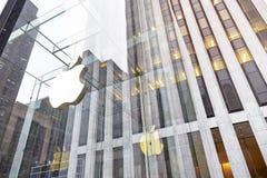 Apple Store in New York Lizenzfreie Stockfotografie