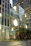 Apple Store New York stock photo
