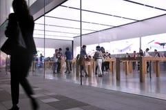 Apple Store op Chunxi-Road stock afbeelding