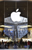 Apple store in Paris. Apple store in the Carrousel du Louvre shopping mall, Paris, France Stock Photography