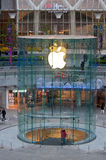 Apple Store Pudong Royalty Free Stock Images