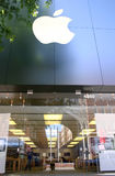 Apple Store, riga di Bethesda, Maryland Fotografia Stock