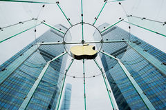 Apple Store in Shanghai, China. Stock Photos