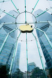 Apple Store in Shanghai, China. Stock Photography