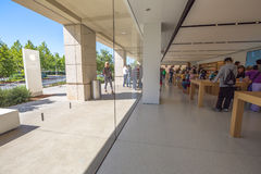 Apple Store Silicon Valley Royaltyfria Bilder