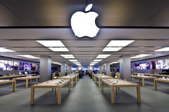 Apple Store. In Sindelfingen, Germany Royalty Free Stock Photos