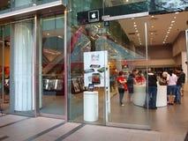 Apple Store Singapore royalty free stock photos