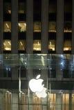 Apple Store stående Royaltyfri Fotografi