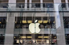 Apple Store, Sydney CBD Royalty-vrije Stock Fotografie