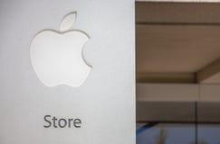 Apple Store symbol royaltyfri bild