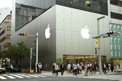 Apple store Royalty Free Stock Images