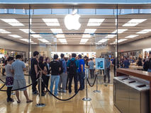 Apple Store Stock Image