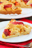 Apple and strawberry tart Royalty Free Stock Images