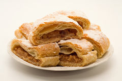 Apple strudel Royaltyfria Bilder