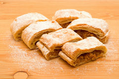 Apple strudel Royaltyfri Bild