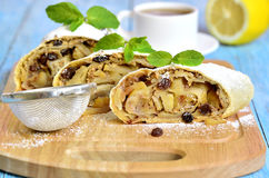 Apple strudel. Stock Photography