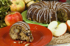 Apple Strudel Cake Royalty Free Stock Images