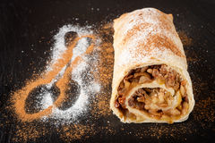 Apple strudel. Stock Photo