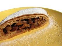 Apple-strudel, een Oostenrijks dessert Stock Foto