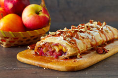 Apple strudel Royalty Free Stock Photography