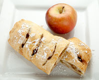 Apple Strudel Royalty Free Stock Photo