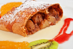 Apple strudel Stock Photography