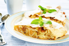 Apple strudel Stock Images
