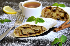 Apple strudel. Royalty Free Stock Image