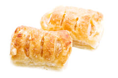 Apple strudel pastries Stock Images