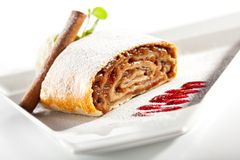 Apple Strudel Royalty Free Stock Photos