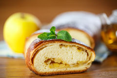 Apple strudel Royalty Free Stock Image