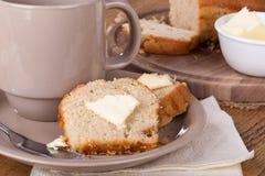 Apple strudel tea bread Stock Photo