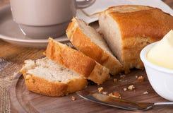 Apple strudel tea bread Royalty Free Stock Photo