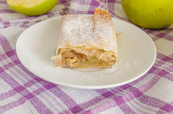 Apple strudle Stock Image