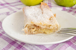 Apple strudle Royalty Free Stock Images