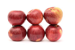Apple-Struktur Lizenzfreies Stockfoto
