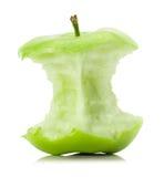 Apple stub isolated on the white background Stock Photo