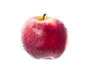 Apple. Studio shot of an apple isolated on white Royalty Free Stock Image
