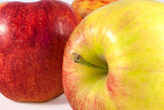 Apple-Studiofoto Stockfotos